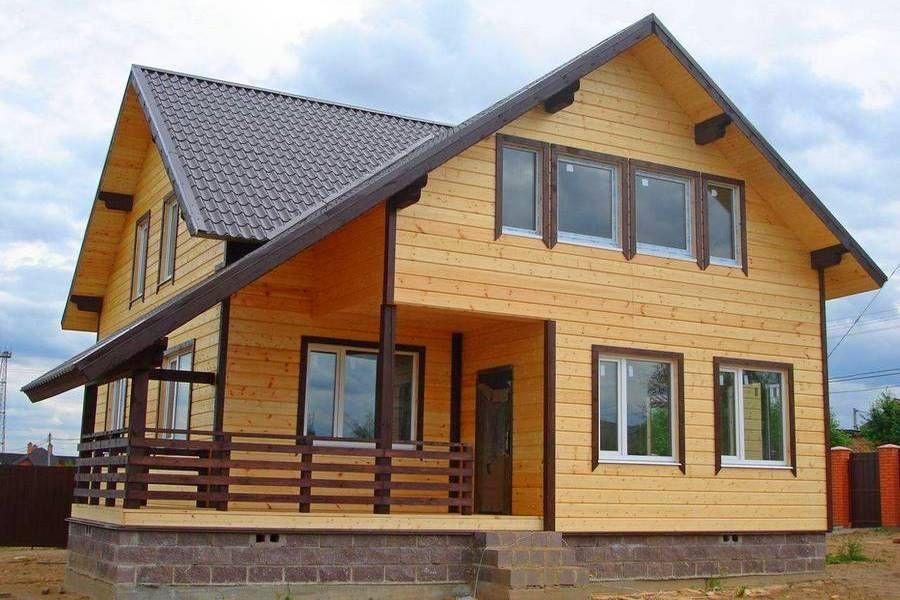 Пример каркасного дома
