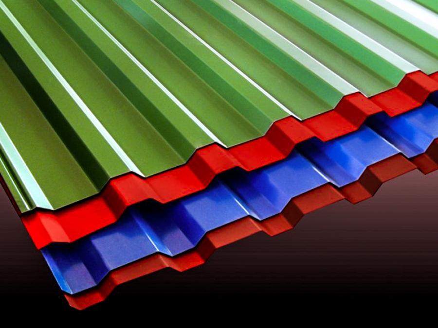 Металлический профиль для кровли крыши