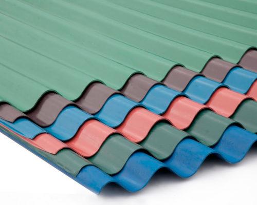 Металлический кровельный материал для крыши листовой