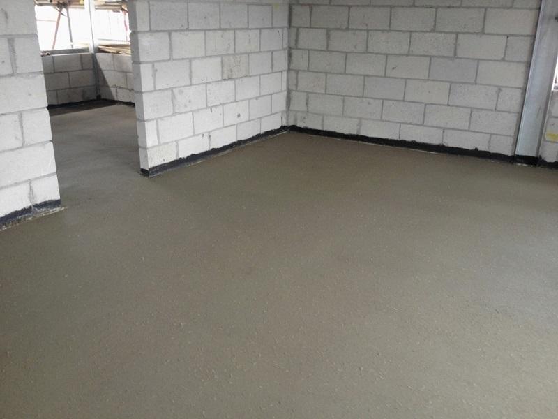Цементная стяжка это раствор строят дома из керамзитобетона