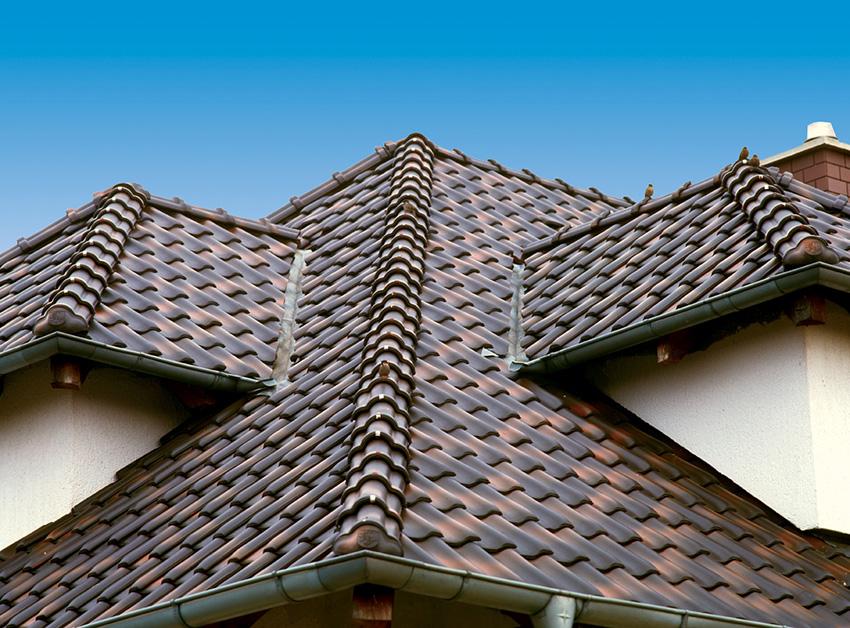 Нестандартно конфигурированная крыша
