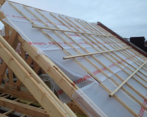 Обрешетка и контробрешотка крыши каркасного дома