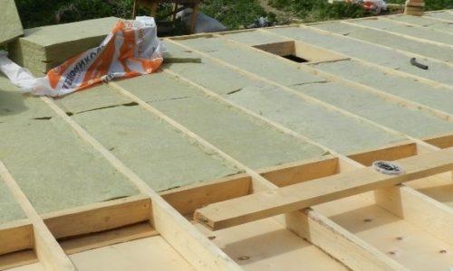Утепление пола каркасного дома при строительстве