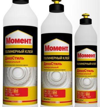 Клей на полимерной основе «Момент»