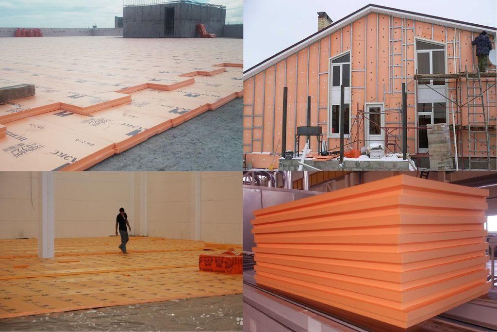 Пеноплекс - теплоизоляционный материал