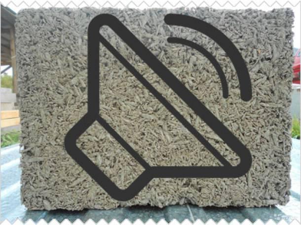 Арболит - звукоизолирующий материал