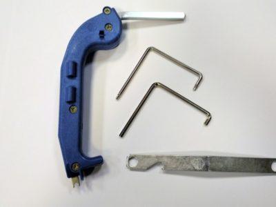 Инструмент для регулировки фурнитуры пластиковых окон