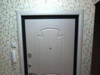 Наличник на входную дверь под 45 градусов