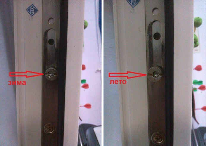 Пластиковые двери регулировка на зиму своими руками 44