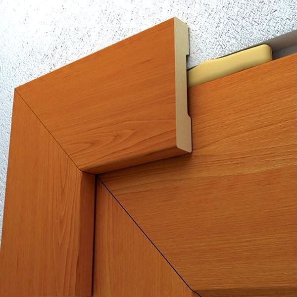 установка декоративных наличников на межкомнатные двери несколько степеней