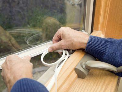 Замена уплотнителя пластикового окна