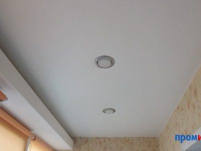 Фото матового натяжного потолка ПВХ