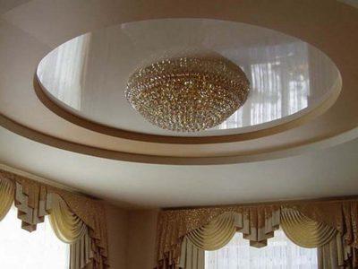 Многоуровневый нятяжной потолок