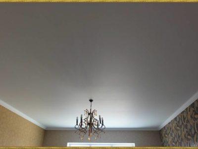 Идеально ровный натяжной потолок