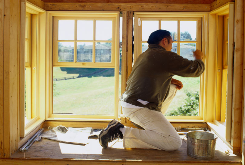 Деревянные стеклопакеты можно ремонтировать