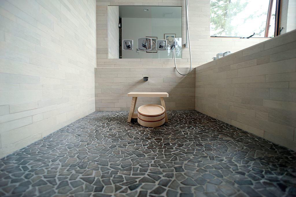 Напольная плитка в виде камня