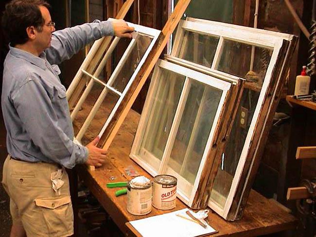 Обработка и реставрация деревянных рам