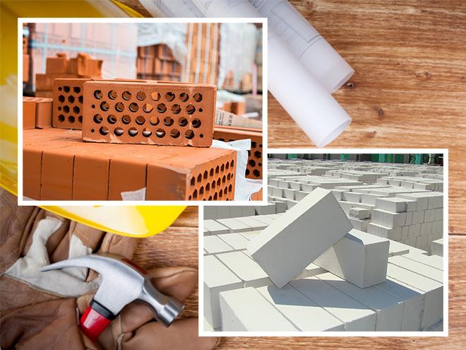 Керамический и силикатный кирпичи