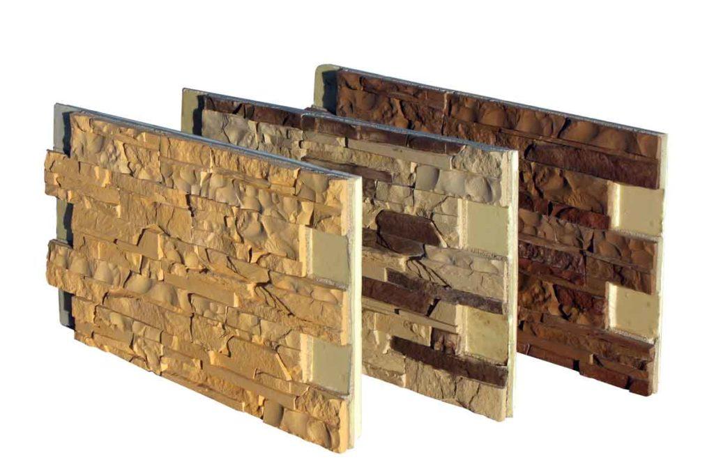 Фасадные термопанели под каменную кладку