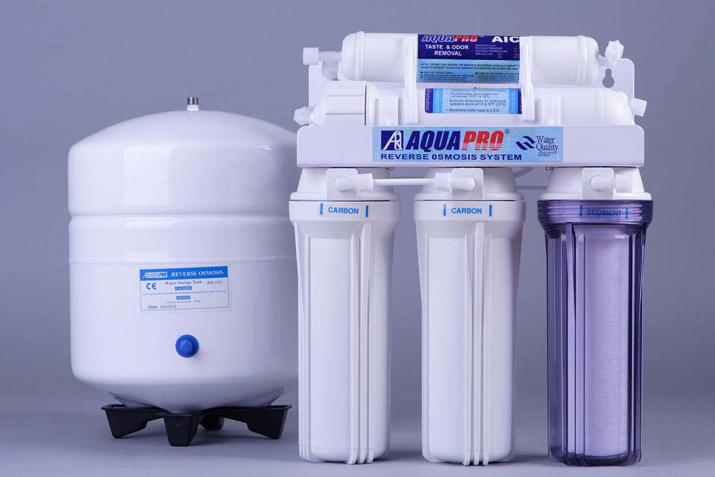 Очистка воды от железа при помощи фильтра