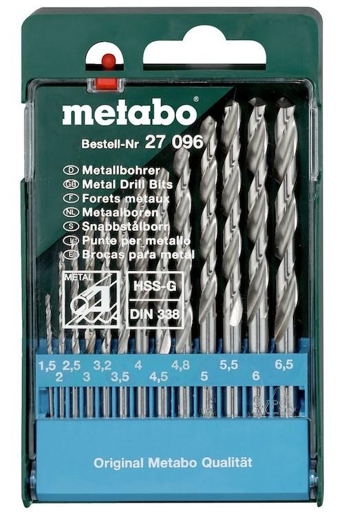 Сверла по металлу Metabo