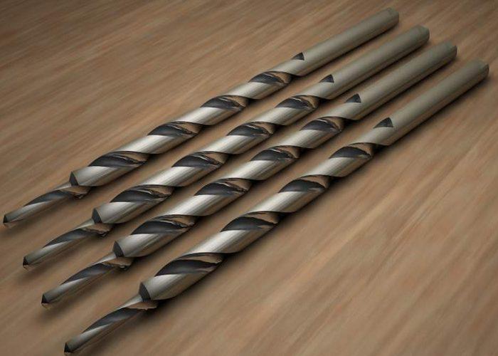 Цилиндрическое сверло по металлу