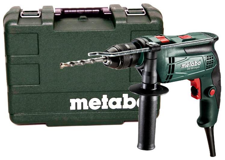 Дрель ударная Metabo SBE 650 600671000