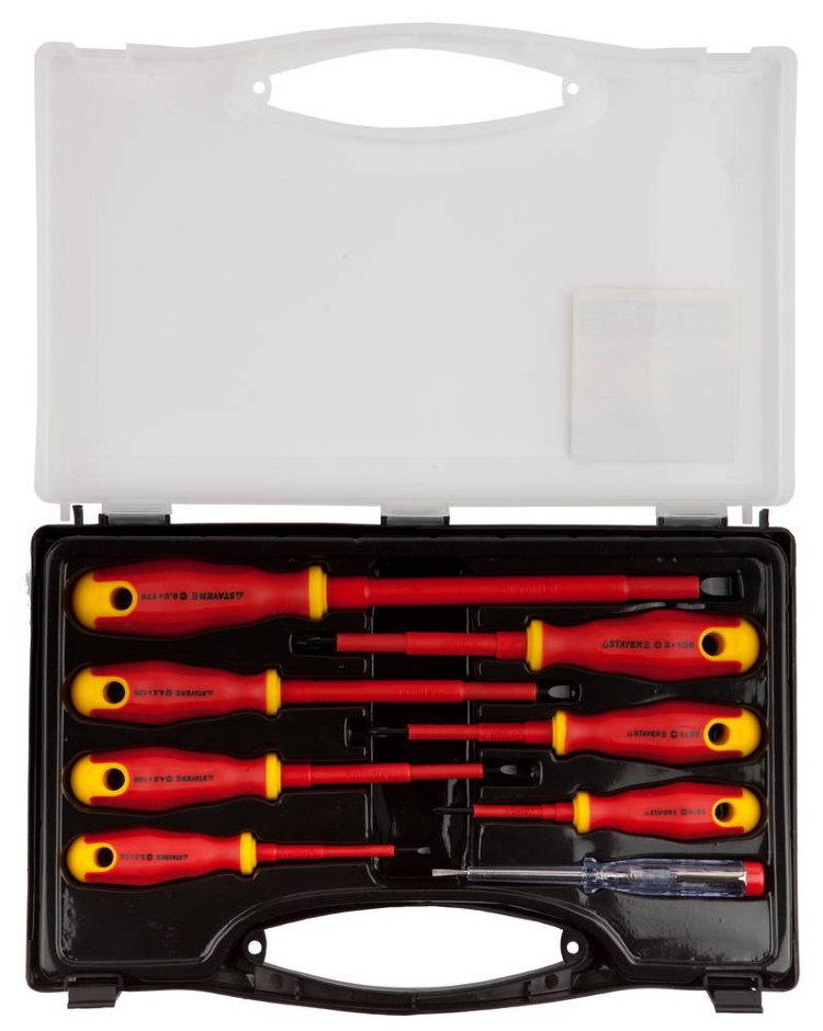 Набор диэлектрических отверток Stayer (Electro 25145-H8)
