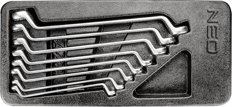 Набор гаечных накидных ключей Neo 84-233, Польша