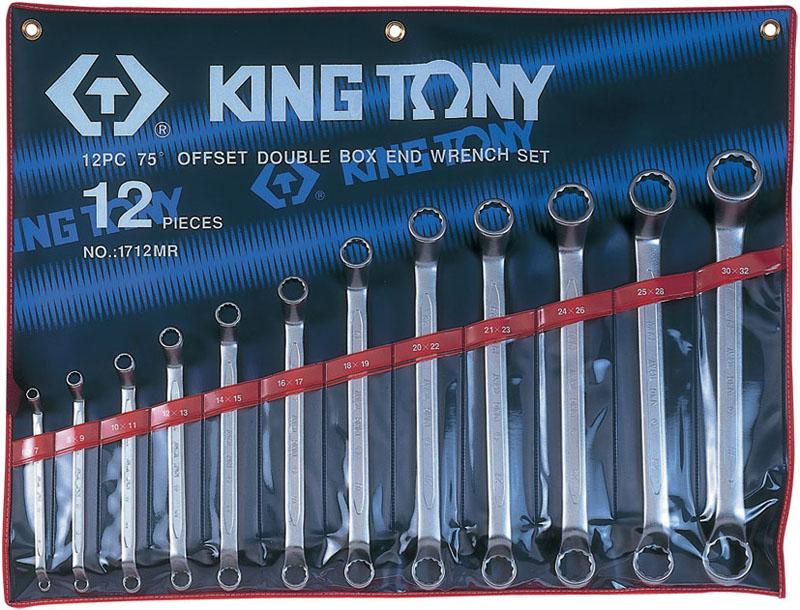 Набор ключей King Tony 1712MR, Тайвань
