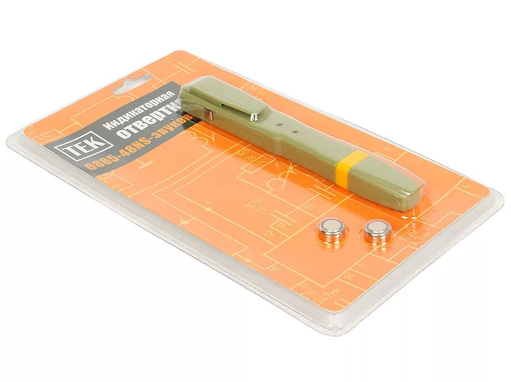 Отвертка на батарейках