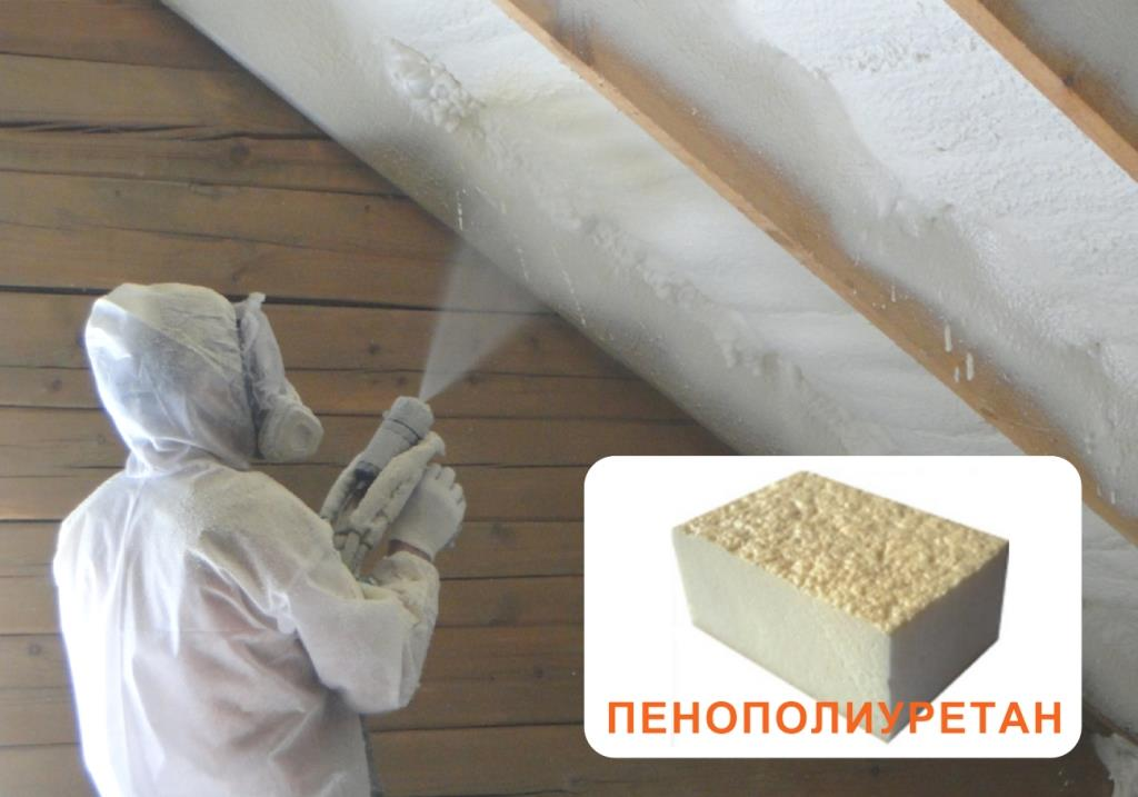 Теплоизоляция пенополиуретаном