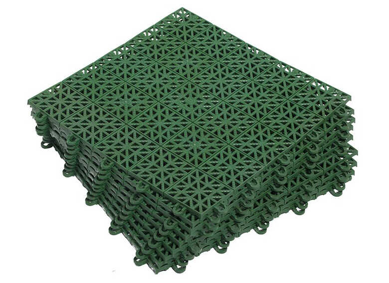 Панели для сборки полимерной дорожки