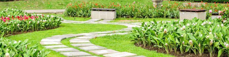 Садовые дорожки, виды дорожек