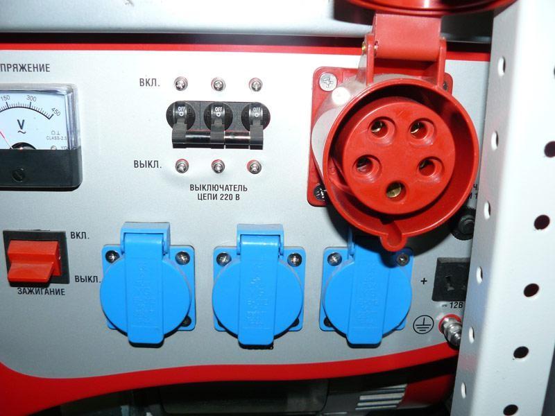 Что подключать к генератору