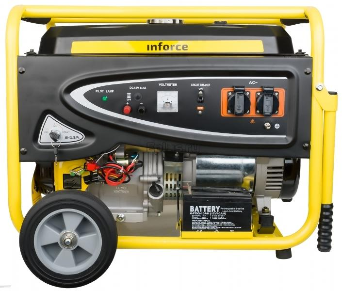 Генератор бензиновый Inforce (IN8000E)