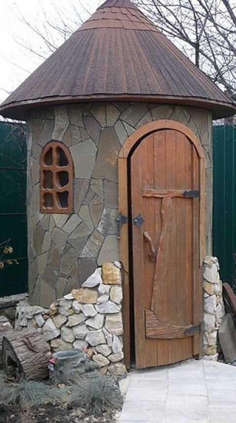 «Круглый» туалет