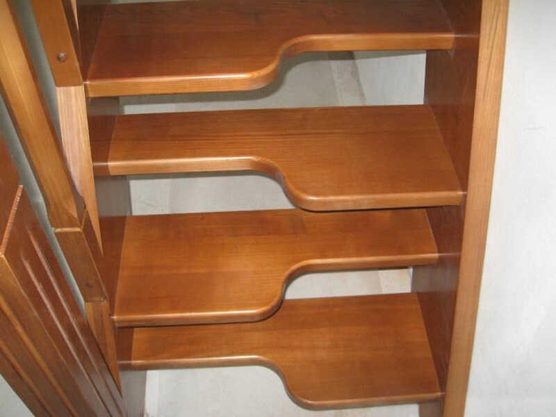 Лестница «гусиный шаг»
