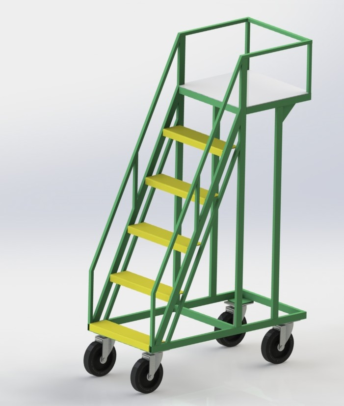 Лестница на колесиках
