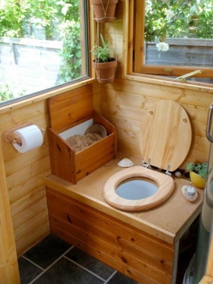 Стульчак для уличного туалета