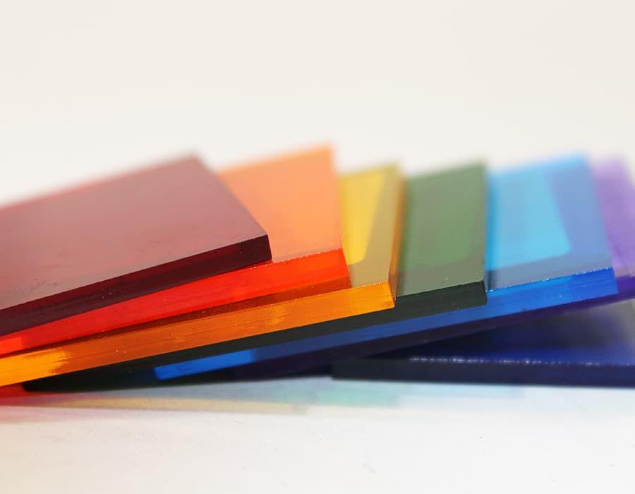 Цветной поликарбонат монолитный