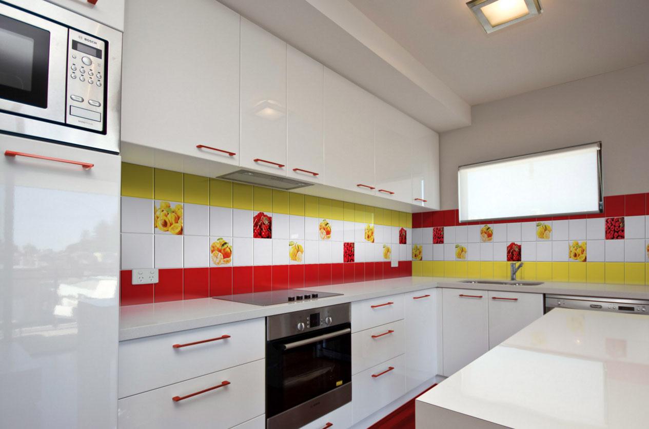 Цветовая гамма для кухонного фартука