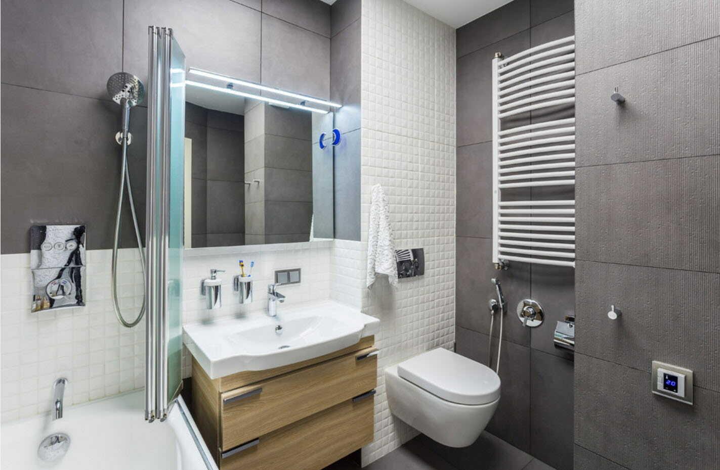 Ванная комната с раковиной