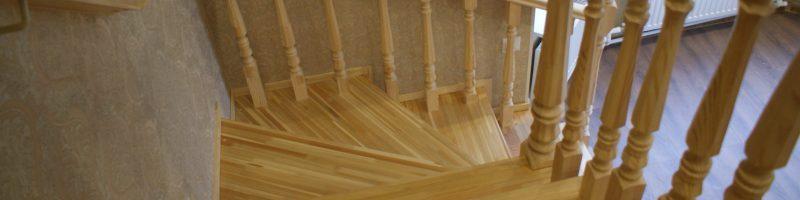 Как сделать лестницу в доме, виды лестниц