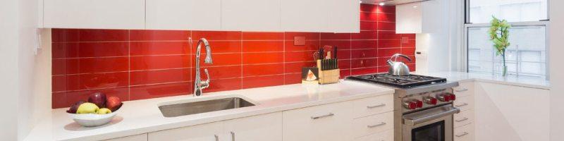 Цвет фартука для кухни