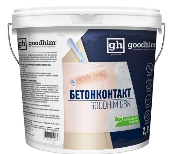 Гидроизоляционная грунтовка GOODHIM «бетонконтакт»