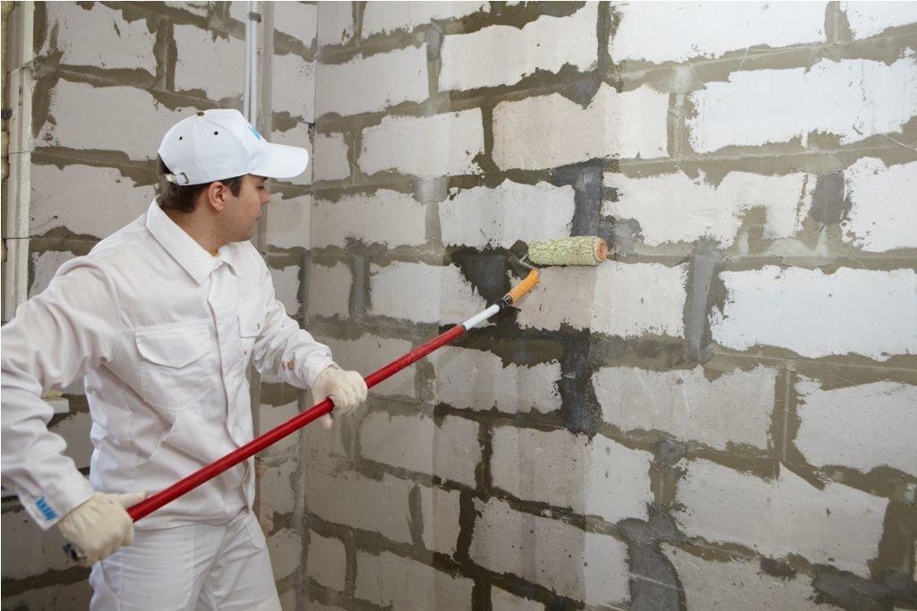 Грунтовка стен – зачем?