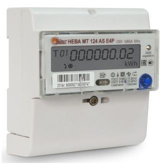 Как выглядит электронный прибор учета электроэнергии?