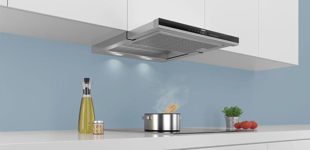 Кухонная вытяжка в интерьере