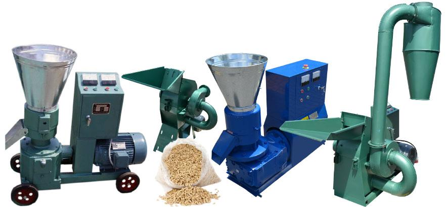 Оборудование для изготовления пеллет для отопления